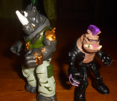 THE BEBOP AND THE ROCKSTEADY by TMNTFAN85