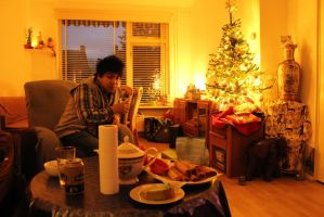 cosy christmas by Janerd