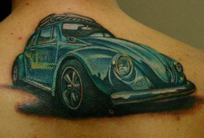 Bug tattoo by nailone