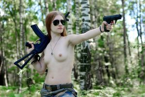 Gun Girls Ksusha by FotoKirchos