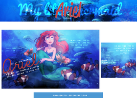 My little mermaid( TAGWALL ) by MayaGenetic