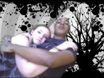 me nd shon (and crappy photo edit) by Shadowthehedgehog97