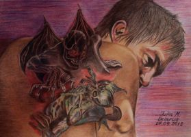 The Walking Dead ... Daryl Dixon and his demons by juli1612