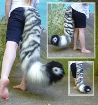 Fancy Tiger tail by LilleahWest