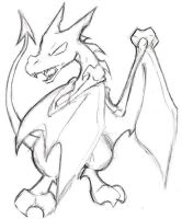 Aerodactyl Sketch by raizy