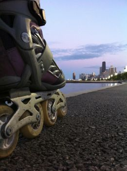 Taking On The Chicago Lakefront 2 by RaCzarina