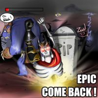 Epic come back! by DarthAgnan