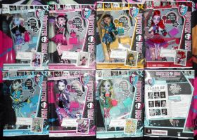 Monster High Picture Day Dolls by Mayux