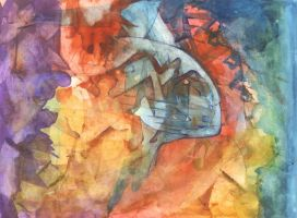 Abstract Watercolour by art-angeles