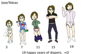 Request: 19 Years of Diapers by Baby-Tobias