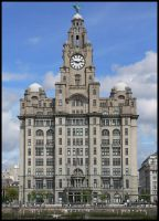 The Liver Building by scarabanza
