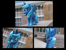 Custom Filly Luna by Crazypurplebat