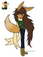 Eevee Girl ADOPT-points (OPEN) by Sahara-Fang