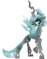 Crystal Queen Chrysalis--update 6/4 by PrinceOfRage