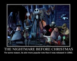 Nightmare Before Christmas by deviartTAG