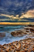 Rocky shores eroded by time by Kounelli1