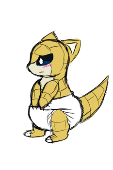 Sandshrew poof by Mewzy148