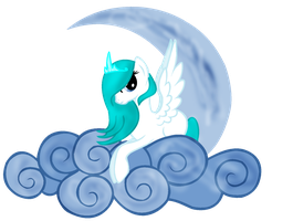 Sadness On Cloud by IcyPonyArtist