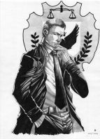 Detective Gordon by cric