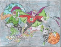 The Green Lanterns~ by MrsHarleenQuinnzel