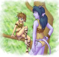 Cavegirls by merrypaws
