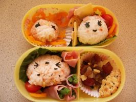 Second Bento +Rather Old+ by Stressed-Panda