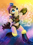 Bubblegirl by KP-ShadowSquirrel
