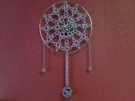 Chainmaille Clock by durango421