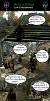 Skyrim is Strange: Law Enforcement by HelloMyNameIsEd