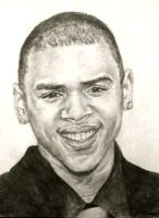 Chris Brown by rushijay