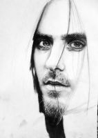 Jared Leto wip by Bluecknight