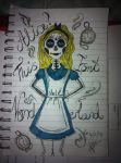 Alice In Wonderland (Colour) by shannybabe123