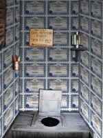 designer outhouse wallpaper by dbszabo1