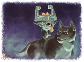 Twilight Princess by whispywizbee