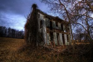 Decrepit Home by Apache1322