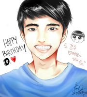 HAPPY BIRTHDAY DO KYUNGSOO by sorasti