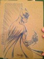 Batman con sketch by thejeremydale