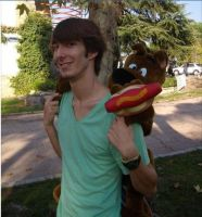Scooby and Shaggy by Dantedart