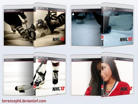 NHL 12 PlayStation 3 Box Art by terrencephil