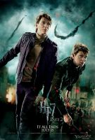 Fred and George action poster by HarryPotter645