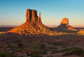 Monument Valley Evening by TomGreenPhotos