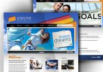 Plasma Advertising Website by kn33cow