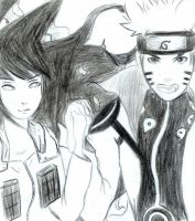 NaruHina: Let's fight together from now on by PurpleOhana