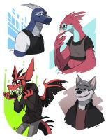 Character requests: Furry edition by TheScatterbrain