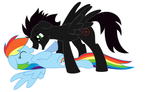 Lead And Dashie by lonewuf