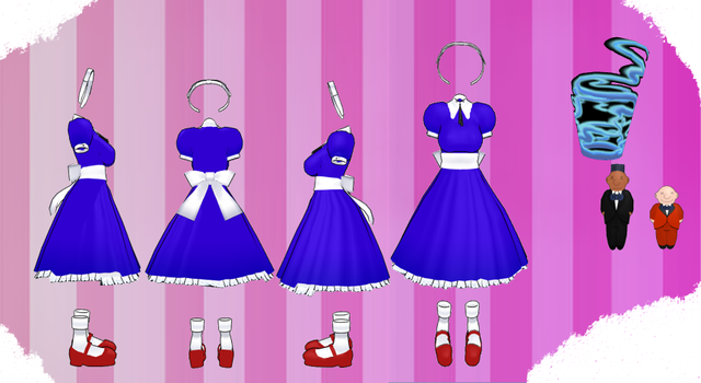 MMD Outfit 121 by MMD3DCGParts