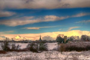 Two Churches in the Snow... by TheBaldingOne