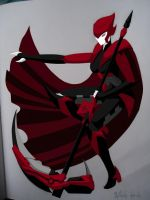 RWBY Ruby Rose Robot Colored (Complete) by starscreamundermybed