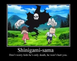 Shinigami-sama Motivational Poster by Queen-ofthe-Pirates
