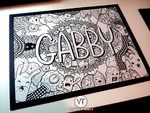 DOODLE: GABBY by vicenteteng